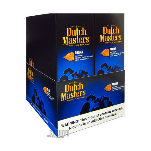 Dutch Masters Palma Foil Box