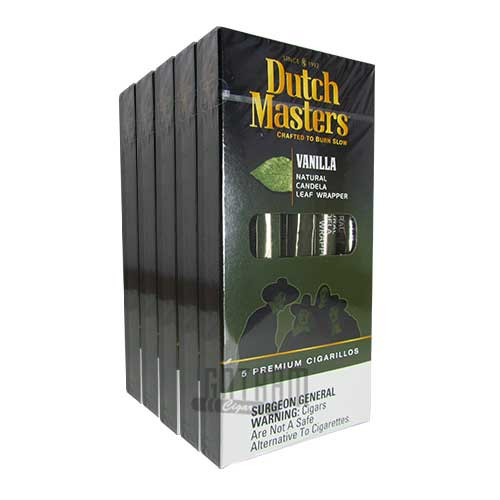 Dutch Masters Cigarillos Vanilla 5 Pack