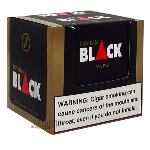 Djarum Filtered Clove Cigars Black Vanilla (Now Ivory)