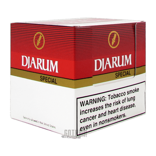Djarum Filtered Clove Cigars Special Box