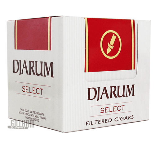 Djarum Filtered Clove Cigars Select Box (New Mild Package)