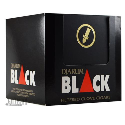 Djarum Filtered Clove Cigars Black