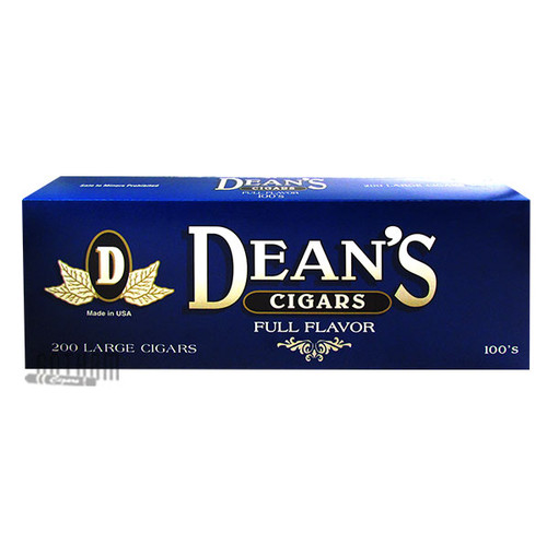 Dean's Large Cigars Full Flavor 100 carton