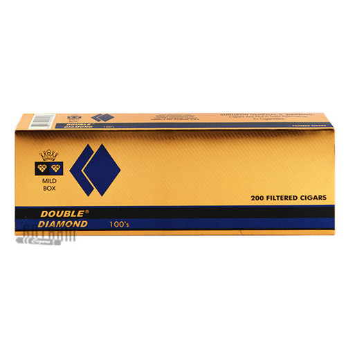 Double Diamond Cigars Mild 100's carton