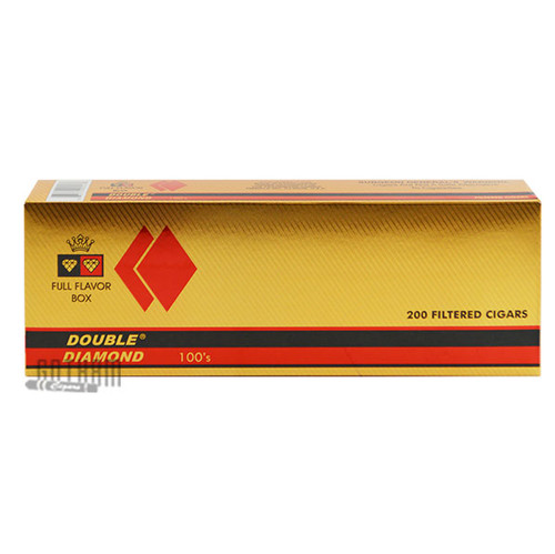 Double Diamond Cigars Full Flavor 100's carton