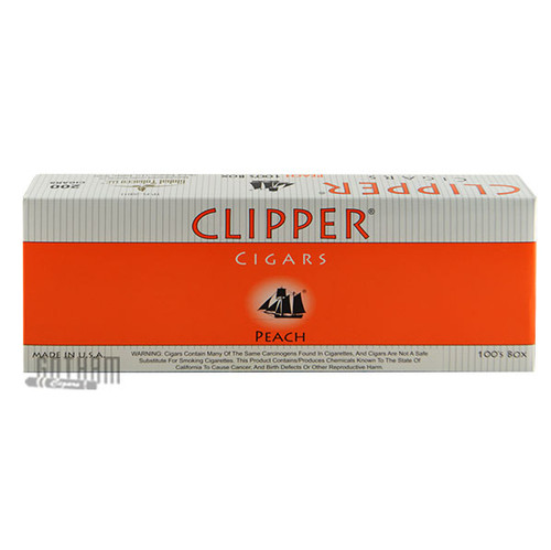 Clipper Filtered Cigars Peach 100's carton