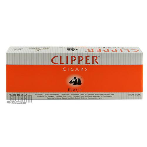 Clipper Filtered Cigars Peach 100's carton
