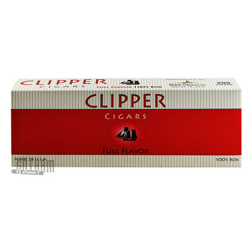 Clipper Filtered Cigars Full Flavor 100's carton