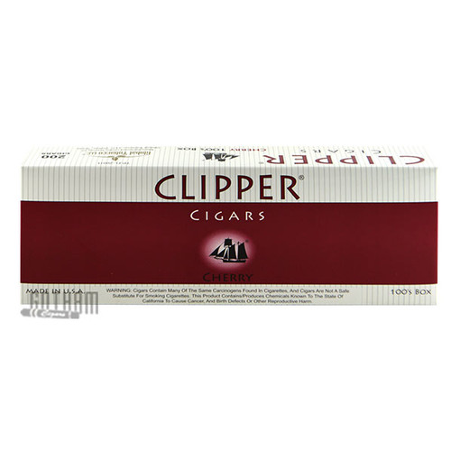 Clipper Filtered Cigars Cherry 100's carton