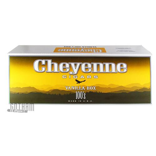 Cheyenne Filtered Cigars Vanilla 100's carton