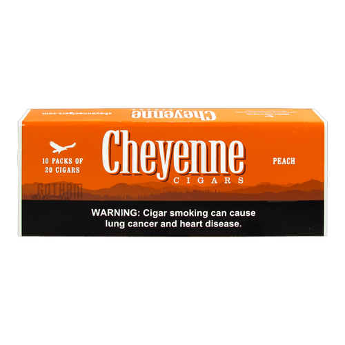 Cheyenne Filtered Cigars Peach Box