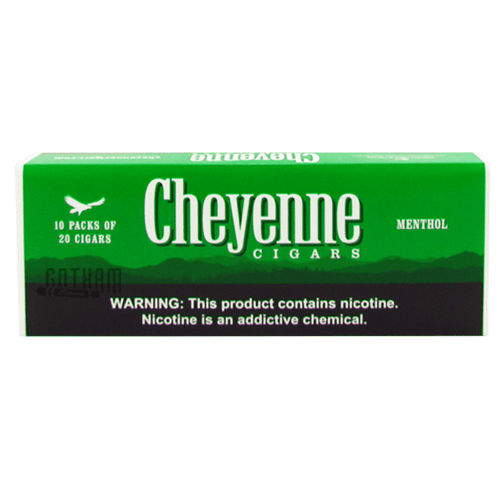 Cheyenne Filtered Cigars Menthol 100's carton