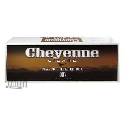 Cheyenne Filtered Cigars Classic Light 100's carton