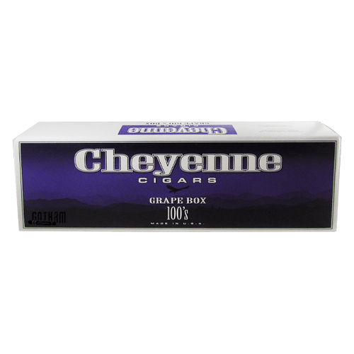 Cheyenne Filtered Cigars Grape Box