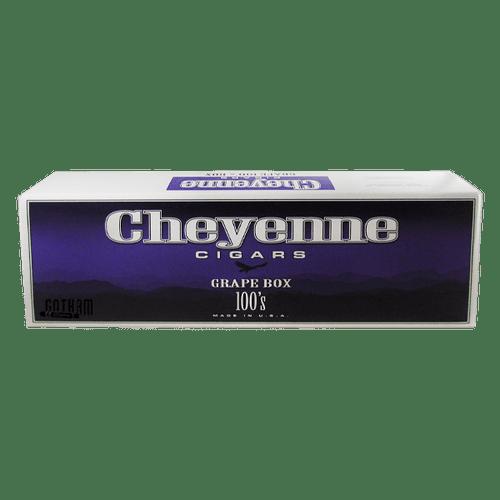 Cheyenne Filtered Cigars Grape Box