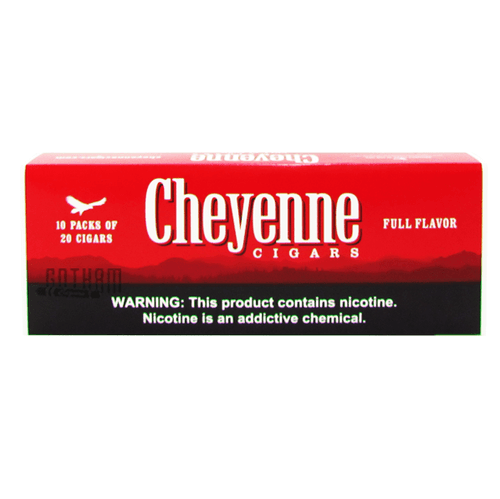 Cheyenne Filtered Cigars Full Flavor 100's carton