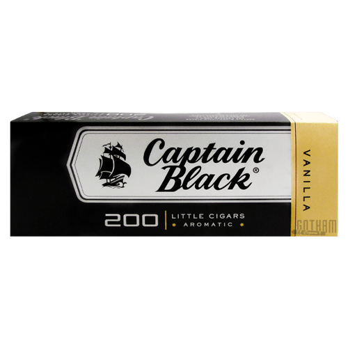 Captain Black Little Cigars Madagascar Vanilla Box