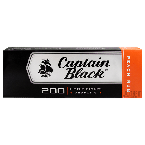 Captain Black Little Cigars Peach Box