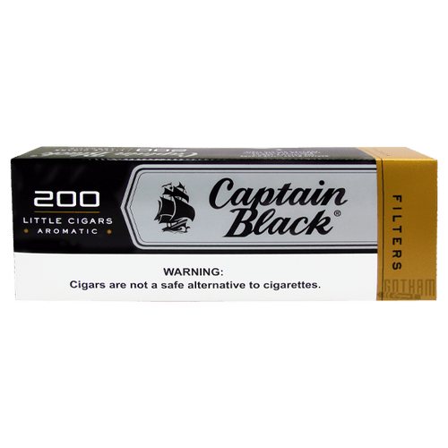 Captain Black Little Cigars Filter Box