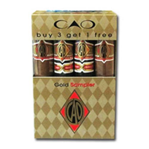 CAO Gold 4 Cigar Sampler
