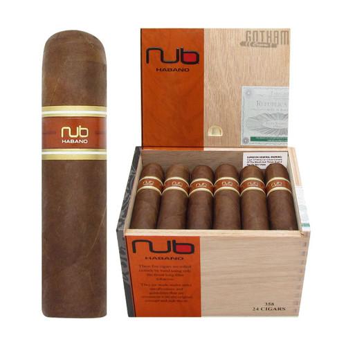Nub Habano 358 Open Box and Stick