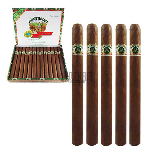 Montesino Gran Corona Cigars box & 5PACK