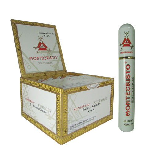 Montecristo White Robusto Grande Tube Box & Stick