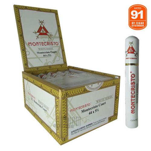 Montecristo White Court Tube rated 91 by Cigar Aficionado