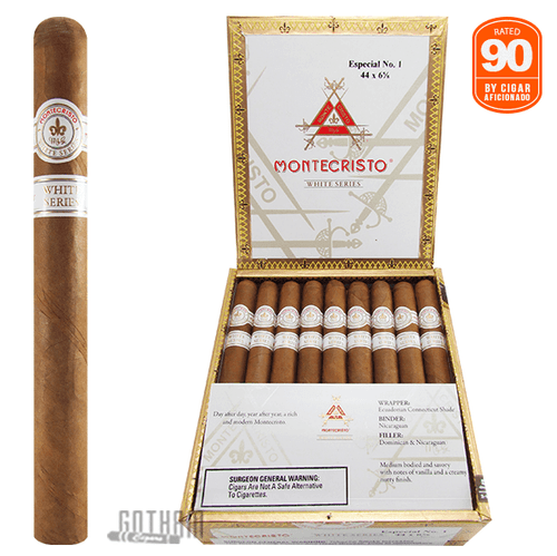 Montecristo White Especial No. 1 Box & Stick