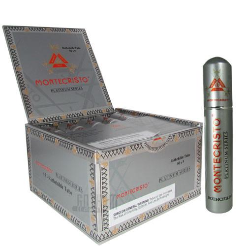 Montecristo Platinum Tubes Rothchilde