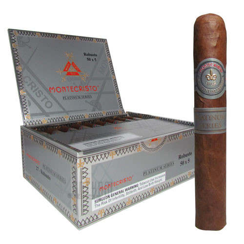 Montecristo Platinum Robusto Box & Stick
