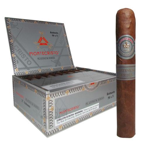 Montecristo Platinum Robusto Box & Stick