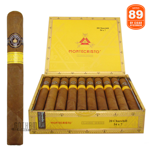 Montecristo Classic Collection Churchill Box and Stick