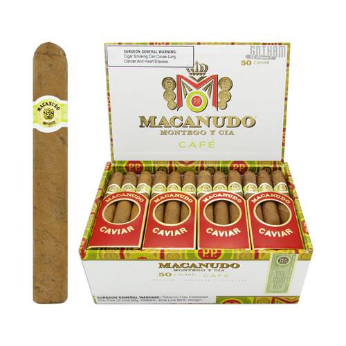 Macanudo Caviar Open Box and Stick