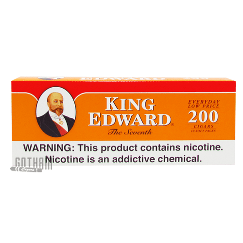 King Edward Filtered Cigars Regular Box