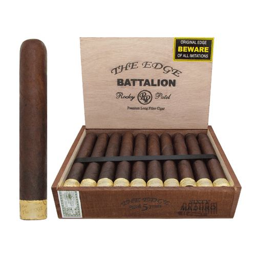 Rocky Patel The Edge Battalion Maduro Open Box and Stick