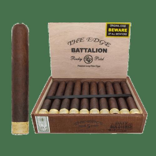 Rocky Patel The Edge Battalion Maduro Open Box and Stick