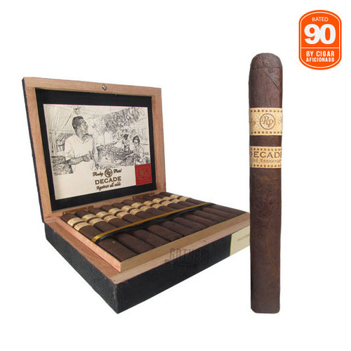 Rocky Patel Decade Toro Rated 90 by Cigar Aficionado