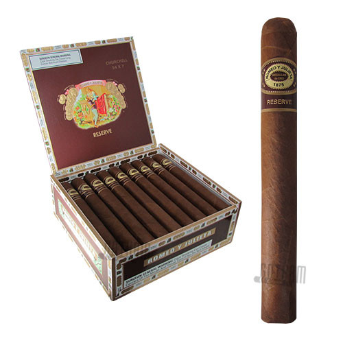 Romeo Y Julieta Reserve Churchill Box & Stick