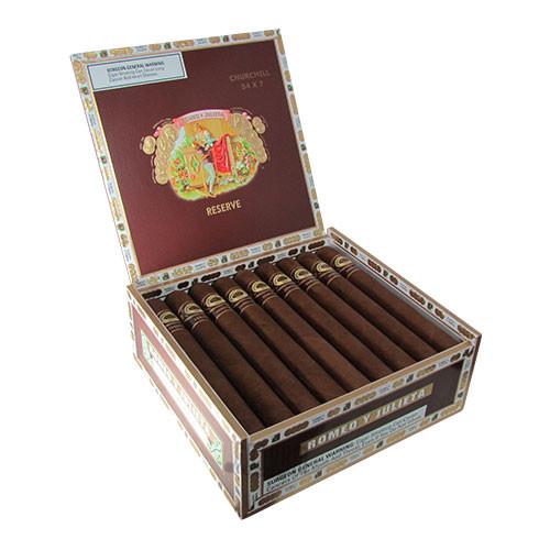 Romeo Y Julieta Reserve Churchill Box