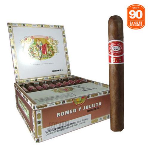 Romeo Y Julieta 1875 Exhibicion #3 Rated 90 by Cigar Aficionado