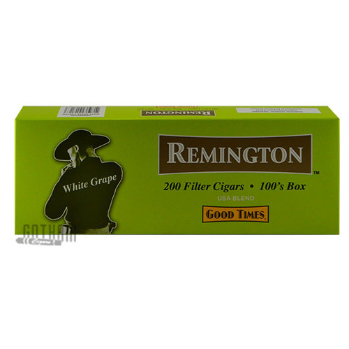 Remington Filtered Cigars White Grape carton