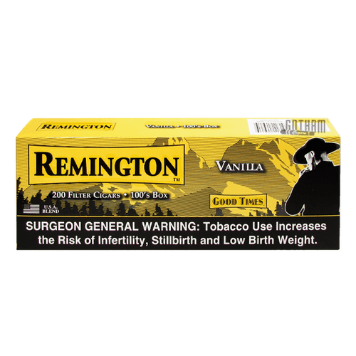 Remington Filtered Cigars Vanilla