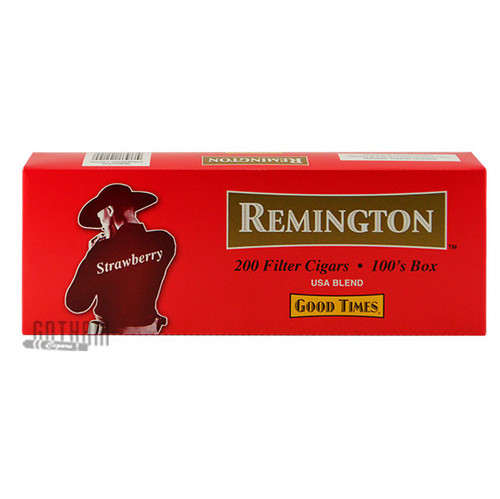 Remington Filtered Cigars Strawberry carton