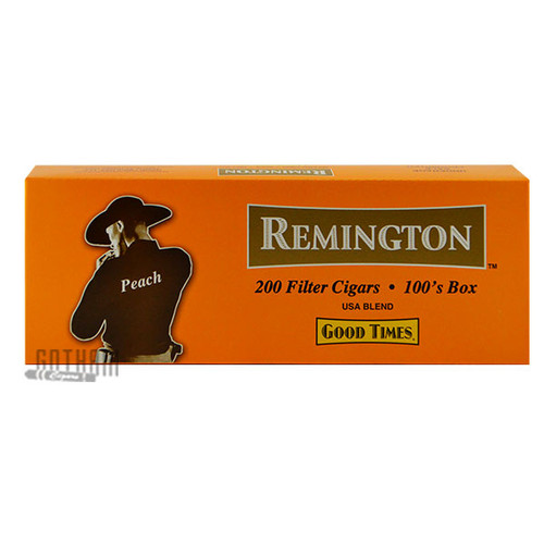 Remington Filtered Cigars Peach carton
