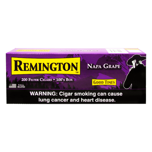 Remington Filtered Cigars Grape