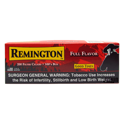 Remington Filtered Cigars Full Flavor Box