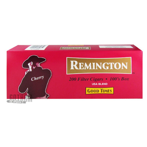 Remington Filtered Cigars Cherry carton