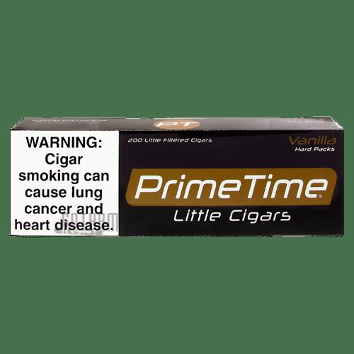 Prime Time Little Cigars Vanilla Carton