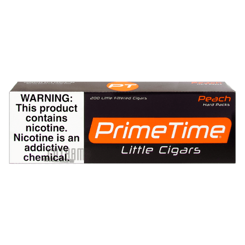Prime Time Little Cigars Peach